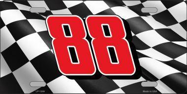 88 CHECKERED FLAG RACING FLAG