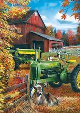 John Deere Barn Metal Sign