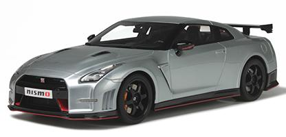 Nissan R35 GT-R Nismo Ultimate Metallic Silver