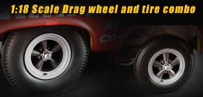 Set of 4 wheel of Drag 1.18