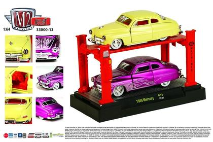 Set 1:64 Cars & Lift - Mercury 1949