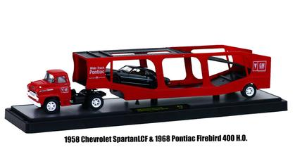 1958 Chevrolet Spartan LCF with 1968 Pontiac Firebird 400 H.O