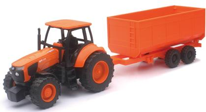 Kubota Tractor with Trailer