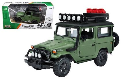 TOYOTA FJ40 LAND CRUISER GREEN