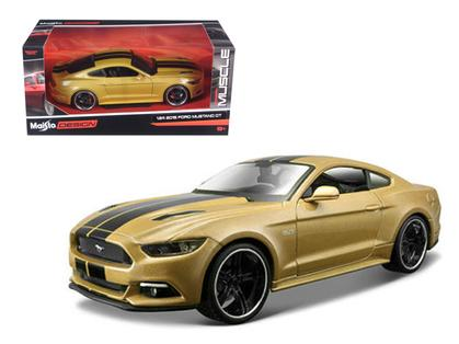 2015 FORD MUSTANG GT GOLD