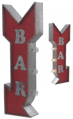 BAR OFF THE WALL LED SIGN