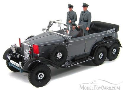 Mercedes-Benz G4 Convertible w/ Figures