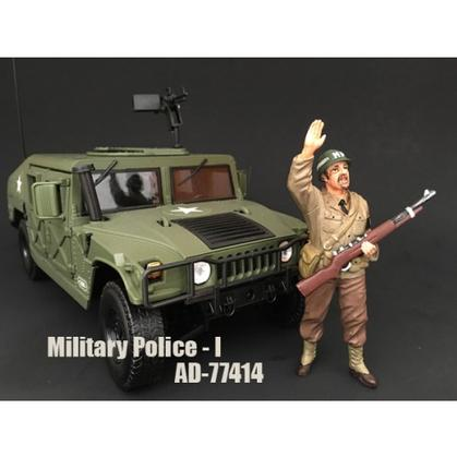 WWII US Military Police Figure -I