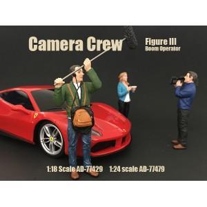 Camera Crew III - Boom operator