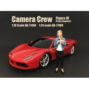 Camera Crew IV - Pretty Reporter