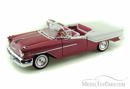 1957 Oldsmobile Super 88 Convertible *cracks in white paint*