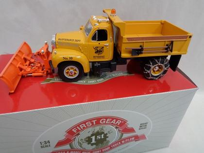 1960 b model mack short dump truck with plow 1920 Mack Truck 1960 b model mack short dump truck with plow image image image
