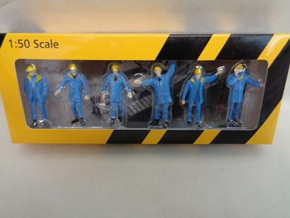 6-Figurines of construction scale 1.50