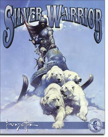 Frazetta - Silver Warrior