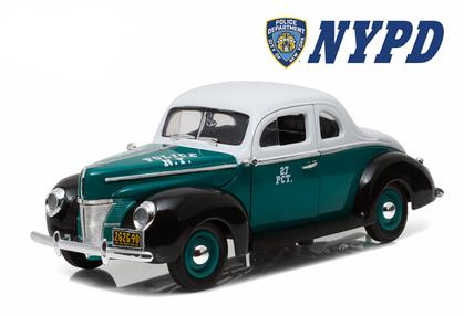 Ford Deluxe Coupe 1940 Police NYPD