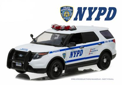 Ford Police Interceptor Utility 2015 NYPD