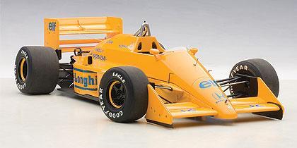 LOTUS 99T HONDA F1 JAPANESE GP 1987 A.SENNA #12