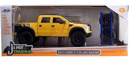 Ford F-150 SVT Raptor 2011 (With Extra Wheels)