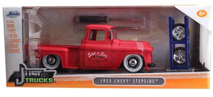 Chevrolet Stepside 1955 (With Extra Wheels)
