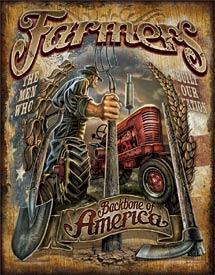 FARMERS BACKBONE OF AMERICA