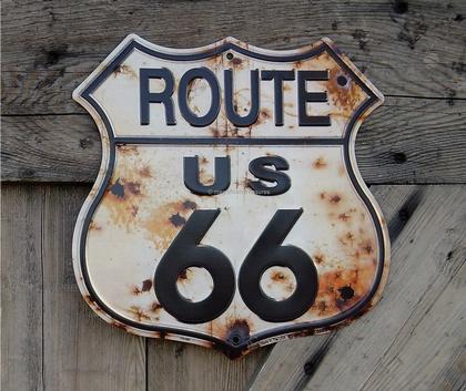 route-us 66 vieillot