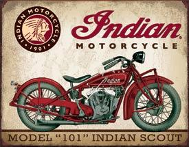 INDIAN MODEL 101 SCOUT 1901