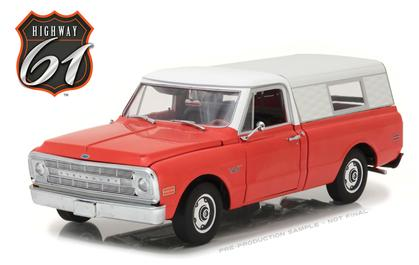Chevrolet C-10 Pickup 1970 with Camper Shell *IN STOCK*