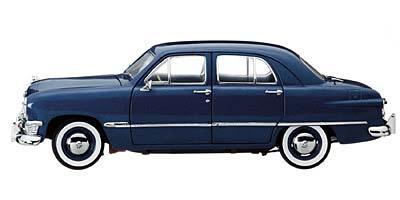 Ford 1950 Custom 4-Door Sedan