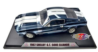 Ford Shelby GT-500E Eleanor 1967 *BLUE CHROME*