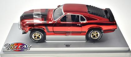 Ford Mustang Boss 302 1970 (Red Chrome)