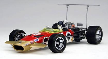1968 Lotus-Ford 49B Graham Hill Watkins Glen