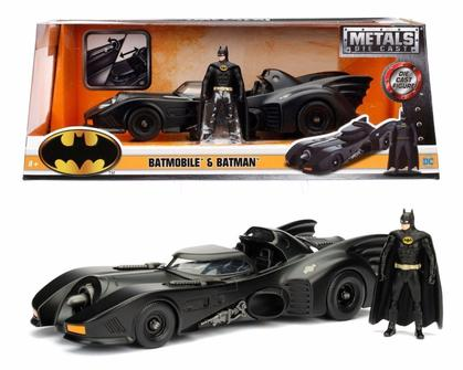 Batman Batmobile 1989 Avec Figurine Batman
