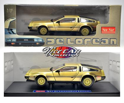 DeLorean 1981 (Gold Edition)