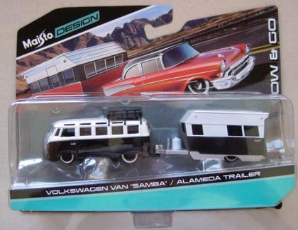 volkswagen van samba / alameda trailer