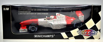 Canadian GP F1 Event car 2002