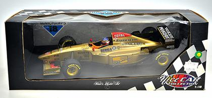 Formula 1, 1996 Jordan Peugeot 196  #11 Benson & Hedges