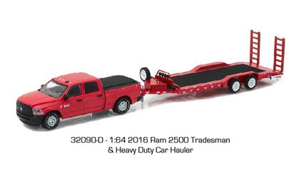 Dodge Ram 2500 2016 Tradesman and Heavy Duty Car Hauler