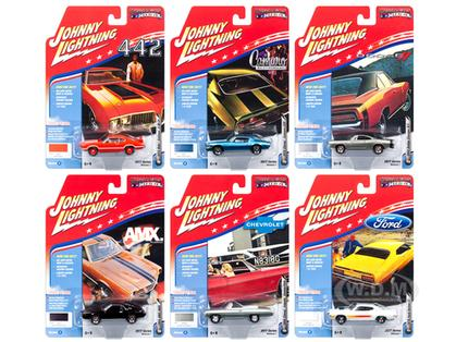 Muscle Cars USA 2017 Set of 6 cars Release C 1/64
