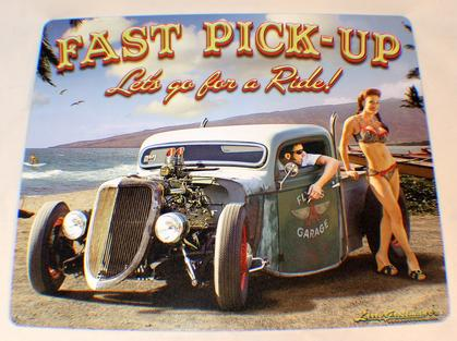 FAST PICK UP LET'S GO FOR A RIDE