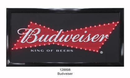 LED Sign Budweiser 19'x10 '