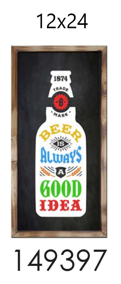 BEER ALWAYS A GOOD IDEA  12