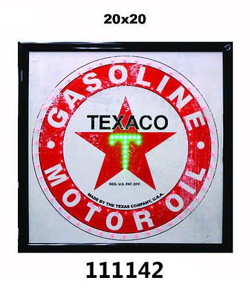 LED FRAME -TEXACO- 20x20