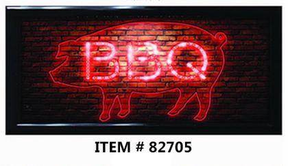 LED FRAME -BBQ- 10x19