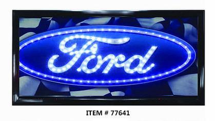 LED FRAME -FORD- 10x19