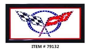 LED FRAME -Corvette sign- 10x19