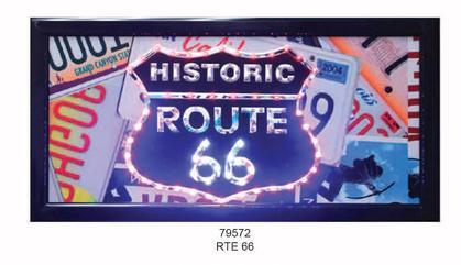 LED FRAME -Historique Route 66- 10x19