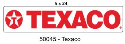 Street SIGN 5x24 -TEXACO-