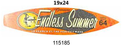 Surfboard laminated 19x24 -ENDLESS Summer-