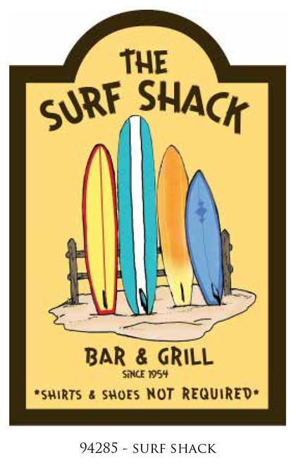 Frame 3D -SURF SHACK- 16x24