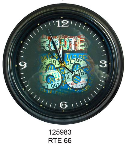 LED Clock -ROUTE 66-